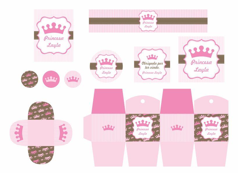 Rotulo Para Personalizar Princesas