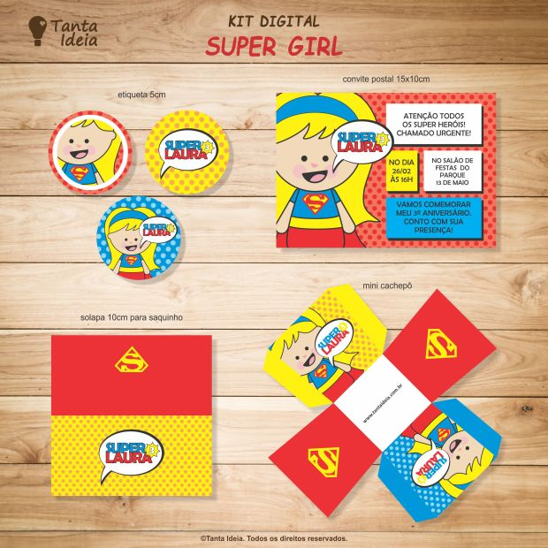 kit super girl loja 1