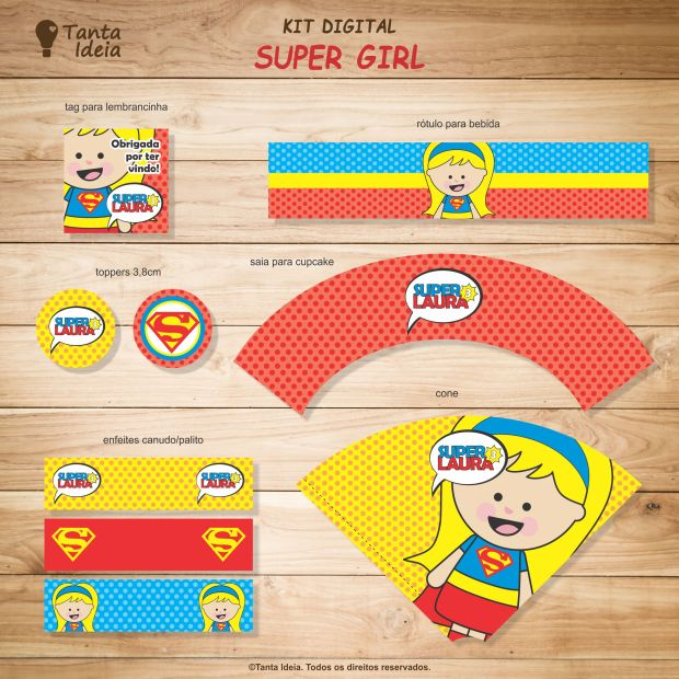 kit super girl loja 2